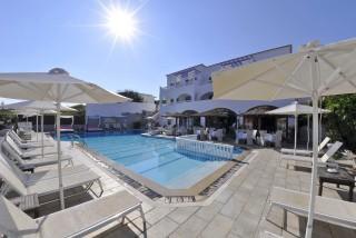 fedra mare hotel on corfu island